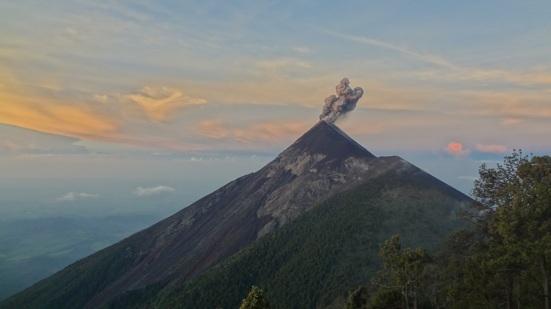 Volcano Fuego Antigua Guatemala