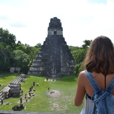 Travel Guide Flores Tikal Maya Guatemala Central America