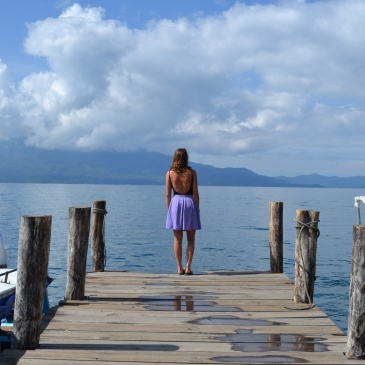 Travel Guide Lake Atitlan Volcano Highlands Guatemala Central America Hostel Iguana Perdida