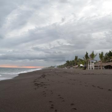Travel Guide Monterrico Guatemala Central America Black Volcanco Beach