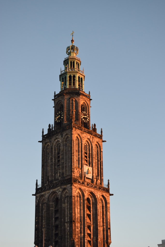 Travel Guide Groningen Holland Netherlands Europe Martini Tower