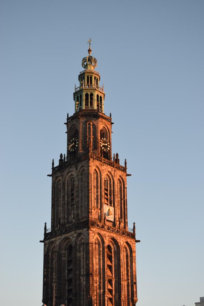 Travel Guide Groningen Holland Netherlands Europe Martini Tower