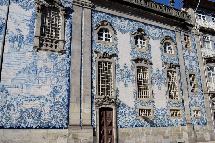 Travel Guide Port Porto Portugal City Trip Mosaic Church