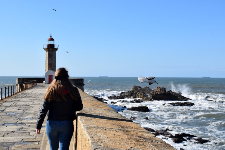 Travel Guide Port Porto Portugal City Trip Beach Lighthouse