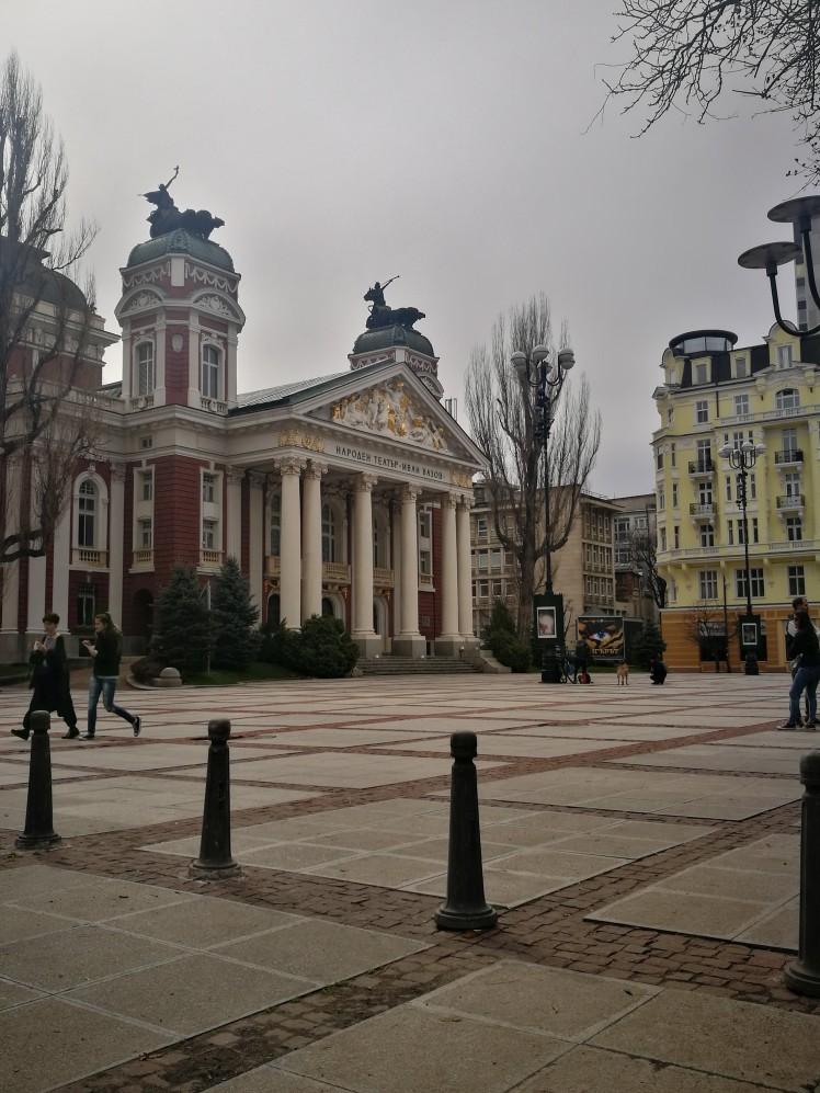 Travel Guide City Centre Sofia Bulgaria Balkan
